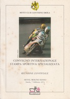 ** MOTO CLUB SANTERNO.-IMOLA.-1974.-** - Car Racing - F1