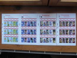 BELGIQUE Lot De 4 Feuilles Prior 15 Timbres Pour Envoi Jusqu'à 50 Gr; THEME DISNEY - Belgique
