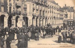 R093989 Dieppe. Les Arcades Et La Criee Au Poisson - Cartes Postales
