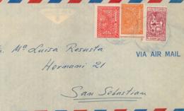 ARABIE SAUDITE. Cover From Dhahran To San Sebastián (Spain). Postal History. - Arabia Saudita
