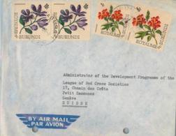 BURUNDI. Cover From Bujumbura To Geneve (Switzerland). Postal History. - 1962-69: Usados