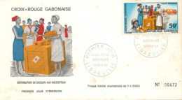 GABON. Cover First Day Cover, Year 1968. Postal History. - Gabón (1960-...)