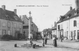 71 - CPA  ST BERAIN SUR DHEUNE Rue De Vellerot - Francia