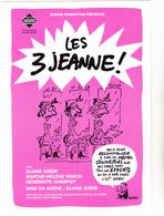 REISER  - Theatre Beliers Avignon  Les 3 Jeannes -  CPM  TBE 2001 Neuve - Other Illustrators