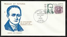 W. Et F.  Lettre Illustrée Premier Jour Mata-Utu Le 20/09/1983  P.A. N°128  Niepce Nicephore Inventeur Photographie   TB - Fotografia