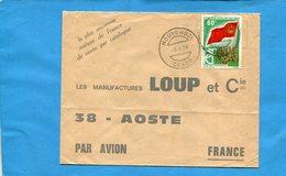 Marcophilie-lettre -CONGO -pour Françe-cad-Mouyoundzi-1976- Stamps-N°A 276 6ème Anniv - Congo - Brazzaville