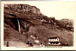 CARJAC La Cascade De La Cogne Petite Animation CPA Ecrite En 1936 TBE - France