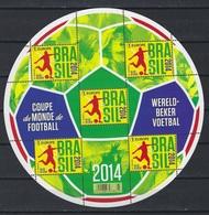 België O.B.C Velletje   Wereldbeker Voetbal 2014   (4422) - Panes