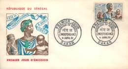 SENEGAL. Cover First Day Cover. Year 1961. Postal History. - Senegal (1960-...)