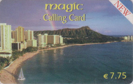 Télécarte Prépayée Italie -  HAWAII Plage & Arc En Ciel - Beach & Rainbow / Site USA - Prepaid Phonecard - 423 - Landschaften