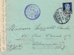 TURKEY. Cover From Istambul To Egypt, 14/2/1941. Censor Label. Postal History. - 1921-... República