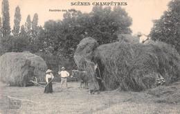 71 - CPA   Scenes Champêtres Rentrée Des Foins - Francia