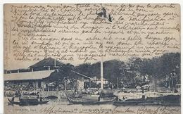 INDOCHINE - COCHINCHINE - SAÏGON - 46 - LES QUAIS - Super Texte Explicatif ;  Circulé 1900 . - Vietnam