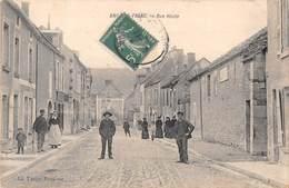 89 - CPA  ANCY LE FRANC  Rue Haute - Ancy Le Franc