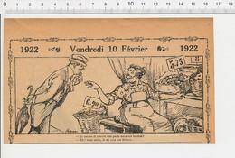 2 Scans Humour Marchande D'huitres Huitre Perlière Perle / Métier Avocat  226G - Vecchi Documenti