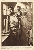WW1 14-18 Histoire D'un Obus De 220 En 14 Photos 1915 - 1914-18