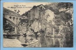 Mas-Saint-Chély Saint-Chély-du-Tarn (48) Pont Et Cascade De Saint-Chély 2 Scans Gorges Du Tarn Barque 1917? - France