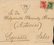 URUGUAY. Cover To Salas (Spain), Year 1936. Postal History. - Uruguay