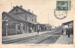 62 - ARQUES : La Gare ( Vue Sur Les Quais ) - CPA - Pas De Calais - Arques