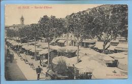 Nice (06) Marché D'Hiver 2 Scans 1907 Attelage Avec Un âne - Marchés, Fêtes