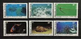 WALLIS AND FUTUNA # 264-269.  Marine Life/Seashells. MNH (**) - Wallis And Futuna