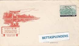 LSC - Enveloppe Illustrée (FDC) - MIYAJIMA - Cachet TOKYO - Briefe U. Dokumente