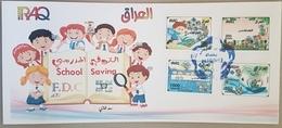 Iraq 2019 NEW FDC - School Saving, Children Paintings - Iraq