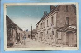 Bueil-en-Touraine (37) Mairie Maison D'Ecole Grand Rue 2 Scans 1950 - 2 Personnages - Andere Gemeenten