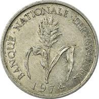 Monnaie, Rwanda, Franc, 1974, British Royal Mint, TTB, Aluminium, KM:12 - Rwanda