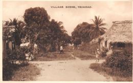 R103881 Village Scene. Trinidad. Davidson And Todd. British Manufacture Throughout - Cartes Postales