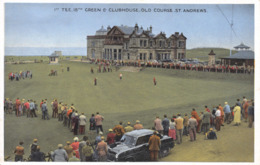 R103978 Green And Clubhouse. Old Course. St. Andrews. Dennis - Postkaarten