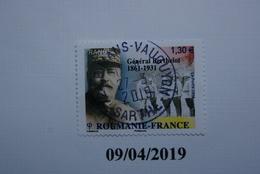 FRANCE 2018    ROUMANIE - FRANCE  Général BERTHELOT  Beau Cachet  Rond Sur Timbre Neuf - Frankreich