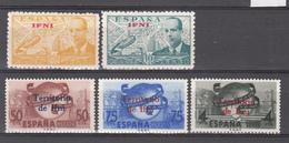 1948-49  Edifil Nº 57 / 58, 65 / 67  /*/ - Ifni