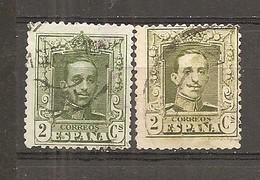 España/Spain-(usado) - Edifil  310-10A - Yvert  272-72a (o) - 1889-1931 Reino: Alfonso XIII