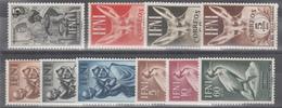 1950 - 1952 LOTE DE SERIES COMPLETAS,   /*/ - Ifni