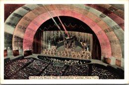 New York City Rockefeller Center Radio City Music Hall 1943 - New York City