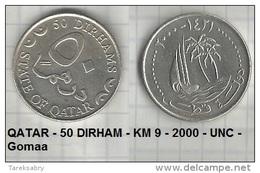 QATAR - 50 DIRHAM - KM 9 - 2000 - UNC - Gomaa - Qatar