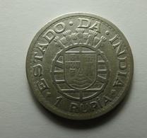 Portugal Índia 1 Rupia 1947 Silver - Portugal