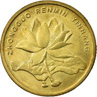 Monnaie, CHINA, PEOPLE'S REPUBLIC, 5 Jiao, 2002, TTB, Laiton, KM:1411 - Chine