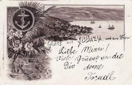 ABBAZIA-CROAZIA-GRUSS AUS-CARTOLINA VIAGGIATA NEL 1896 - Croatia