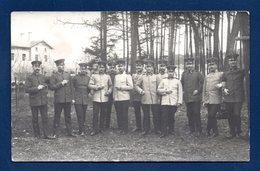 Carte-photo. Soldats Et Officiers Allemands. Hagenau - Schiessplatz ( Polygone De Tir). 1911 - Régiments