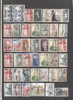 FRANCIA - FRANCE - Lotto - Accumulo - Vrac - 380 Francobolli - Usati - Mezclas (max 999 Sellos)
