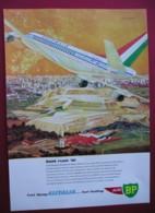 ORIGINAL 1961 MAGAZINE ADVERT FOR AIR/BP/ ALITALIA AIR LINE - Sonstige