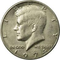 Monnaie, États-Unis, Kennedy Half Dollar, Half Dollar, 1974, U.S. Mint - Federal Issues