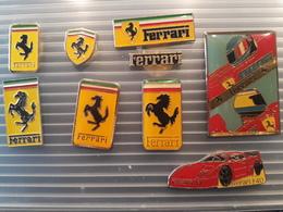 FERRARI  . 9 PIN'S - Ferrari