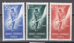 1950  Edifil Nº 295 / 297  /*/ - Guinea Española