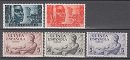 1951  Edifil Nº 309 / 310, 311 / 313  /*/ - Guinea Española