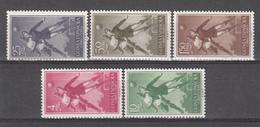 1955 - 1956 Edifil Nº 350 / 354    /*/ - Spanish Guinea