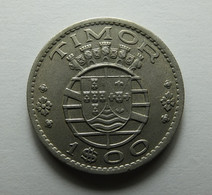 Portugal Timor 1 Escudo 1958 - Portugal