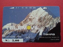 PERU Field Test Trial 5S TAMURA Mount Aconcagua Perou Telemovil Tele2000 Used (CA0417 - Pérou
